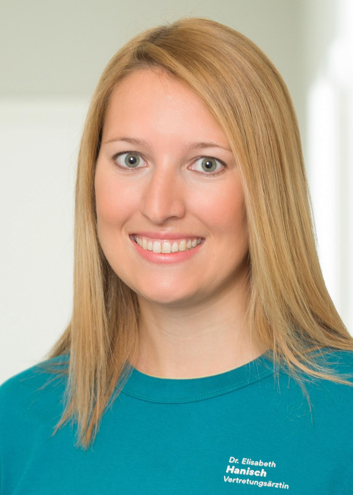Vertretungsärztin Dr. Elisabeth Hanisch